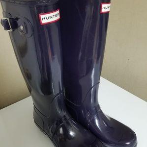 Hunter Boots Glossy Tall Original